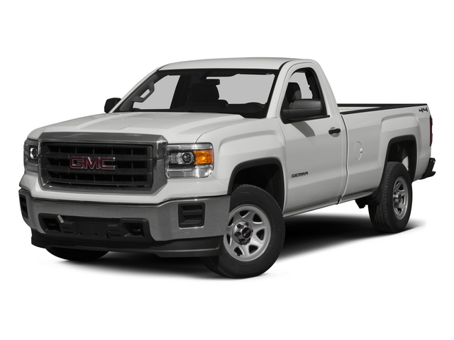 2015 GMC SIERRA 1500 2WD REGULAR CAB This vehicle has a 43L V6 engine and an automatic transmissi